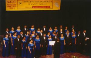 Concorso Internazionale di Canto Corale Aperto a tutti i Cori del mondo.