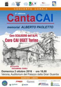locandina cantaCAI 2016